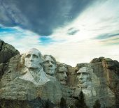 image of mount rushmore national memorial  - Rushmore monument - JPG