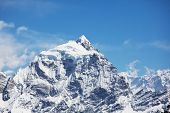 picture of cho-cho  - Mountains peak Cho Oyo - JPG