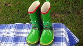 picture of childrenwear  - New wellington boots for a child - JPG