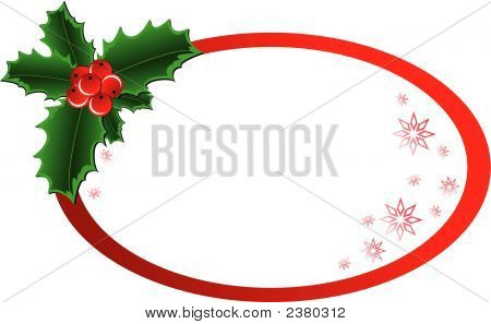 Christmas Holly Banner.Eps