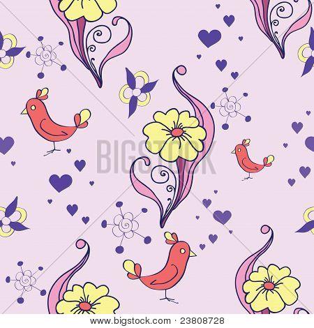 Cute Floral Seamless