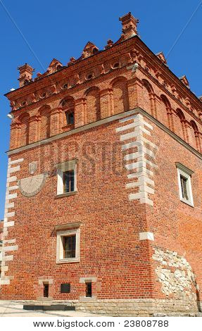 Old Town Hall In Sandomierz, Poland.