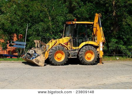 Wheel Loader Machine