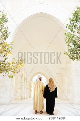 Arabic Muslim couple