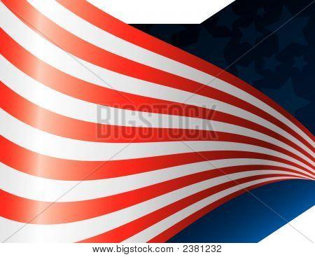 Waving American Flag Art (Replacing: 1835440)