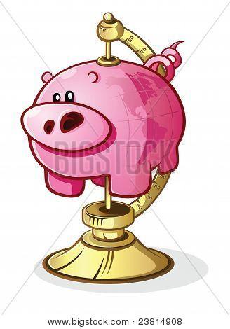 Schwein-Globe