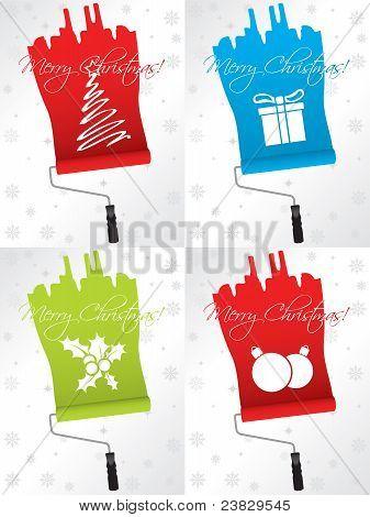 Shifty Christmas Greeting Card Set