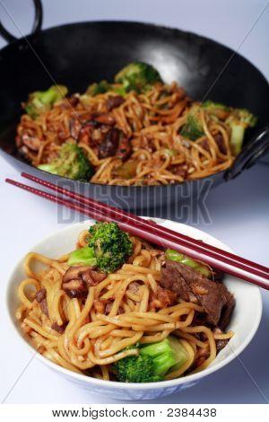 Beef Chow Mein Vert