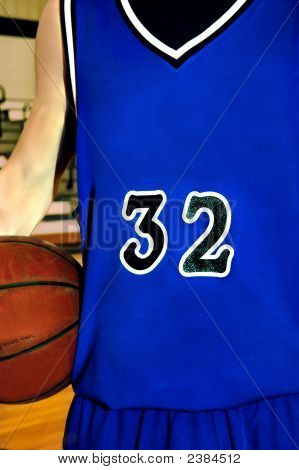 Ball Uniform In Blue