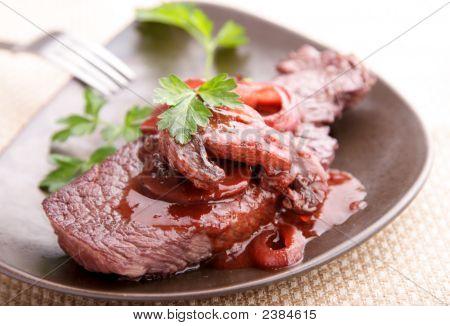 Beef Fillet In Redwine