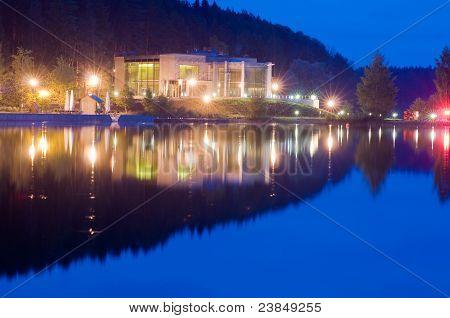 Night embankment