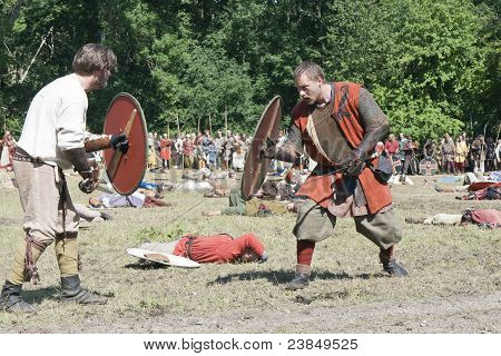 Fighting Vikings