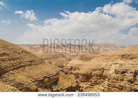 Canyon Near The Monastery Of