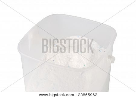 Plastic Container With Washing Powder