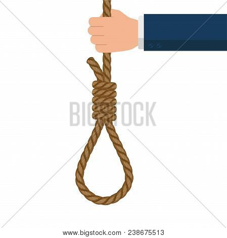 Rope Hanging Loop Suicide And