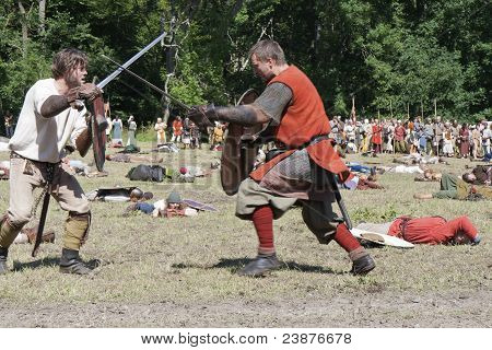 Fighting Vikings - Sword Fight