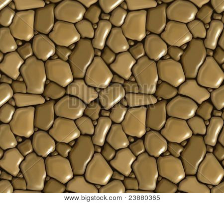 Rubble masonry seamless, vector