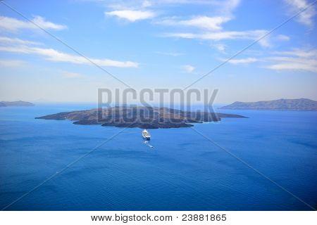 Santorini Volcano Greece