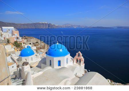 Santorini church (Firostefani)