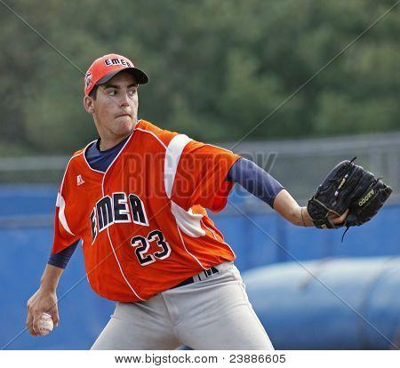 Senior League Baseball World Series Italy Pitch