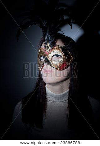 Gil Wearing Venetian Masked, Spotlight