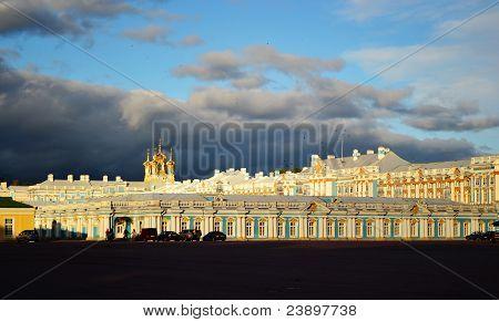 Palace in Tsarskoe Selo.