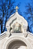 Постер, плакат: Top Of Tomb Of Prince Dmitry Mikhailovich Pozharsky In Monastery Of Our Savior And St Euthymius In S