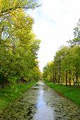 foto of tsarskoe  - Canal in Catherine - JPG