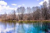 The Famed Blue Lakes Of Kazan: The Bolshoye Goluboye (big Blue) Lake, The Maloye Goluboye (small Blu poster