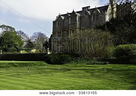 Croquet Field of Chastleton House