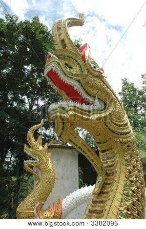 Head Naga (Thai Style)