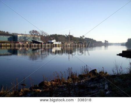 Wharf Boats Harbor