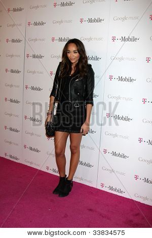 LOS ANGELES - NOV 16:  Ashley Madekwe arrives at the Google Music Launch at Mr. Brainwash Studio on November 16, 2011 in Los Angeles, CA