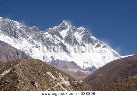 Nuptse, Lhotse, Everest - Nepal