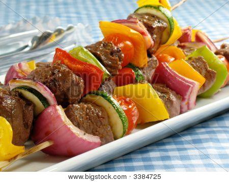 Delicious Steak Kebabs