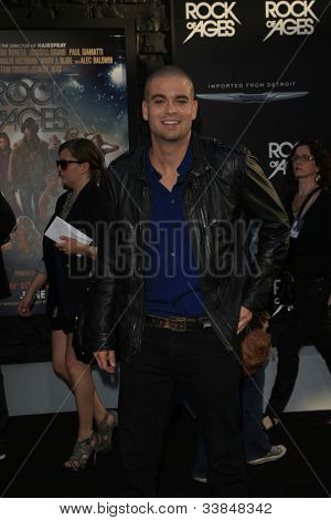 LOS ANGELES - JUN 8: Mark Salling at the 'Rock of Ages' Los Angeles premiere held at Grauman's Chinese Theater on June 8, 2012 in Los Angeles, California
