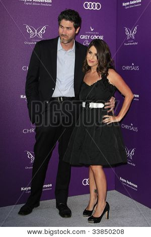 LOS ANGELES - JUNE 9: Soleil Moon Frye, Jason Goldberg at the 11th Annual Chrysalis Butterfly Ball held at a private residence on June 9, 2012 in Los Angeles, California