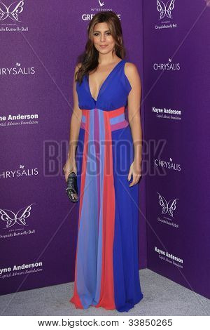 LOS ANGELES - JUNE 9: Jamie Lynn Sigler at the 11th Annual Chrysalis Butterfly Ball held at a private residence on June 9, 2012 in Los Angeles, California
