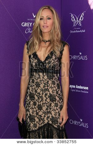 LOS ANGELES - JUN 9:  Kim Raver arriving at 11th Annual Chrysalis Butterfly Ball at Private Residence on June 9, 2012 in Los Angeles, CA