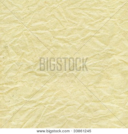 old wrinkled paper texture background