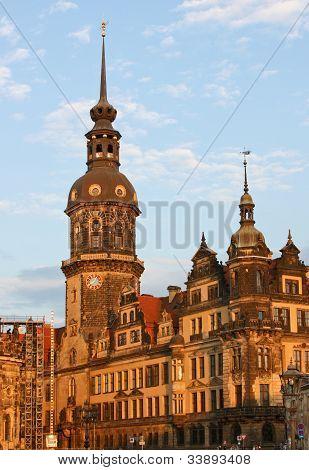 Residenzschloss In Dresden,saxony,germany
