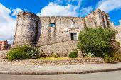 Castle Of San Giorgio Or Castello Di San Giorgio Is A Medieval Castle Located In La Spezia, Liguria  poster