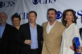 NORTH HOLLYWOOD - JUN 5: Donnie Wahlberg, Tom Selleck, Bridget Moynahan, Will Estes at a screening o