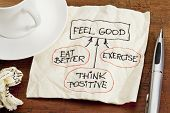 picture of feeling better  - think positive  - JPG