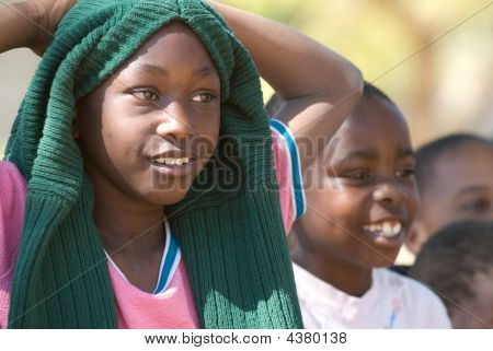 Estudiantes en Zimbabwe
