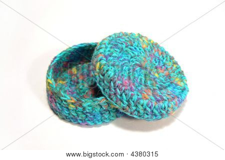 Crocheted Gift Box