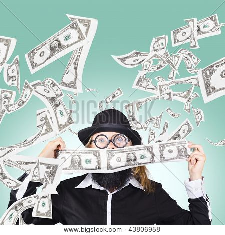 Successful American Businessman With Lots Of Money
