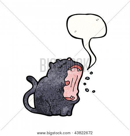 singing cat cartoon
