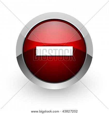 first aid red circle web glossy icon