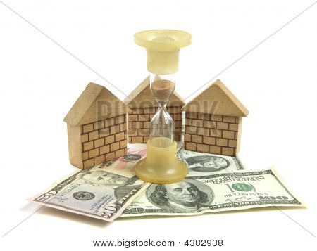Money, House, Hourglass